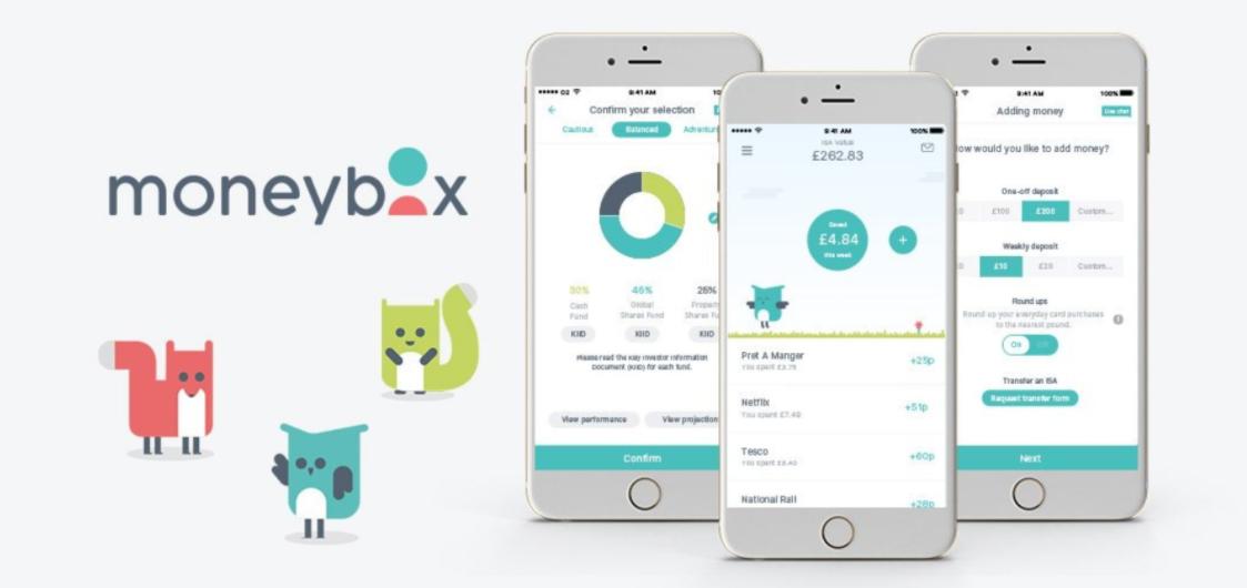 micro investing moneybox