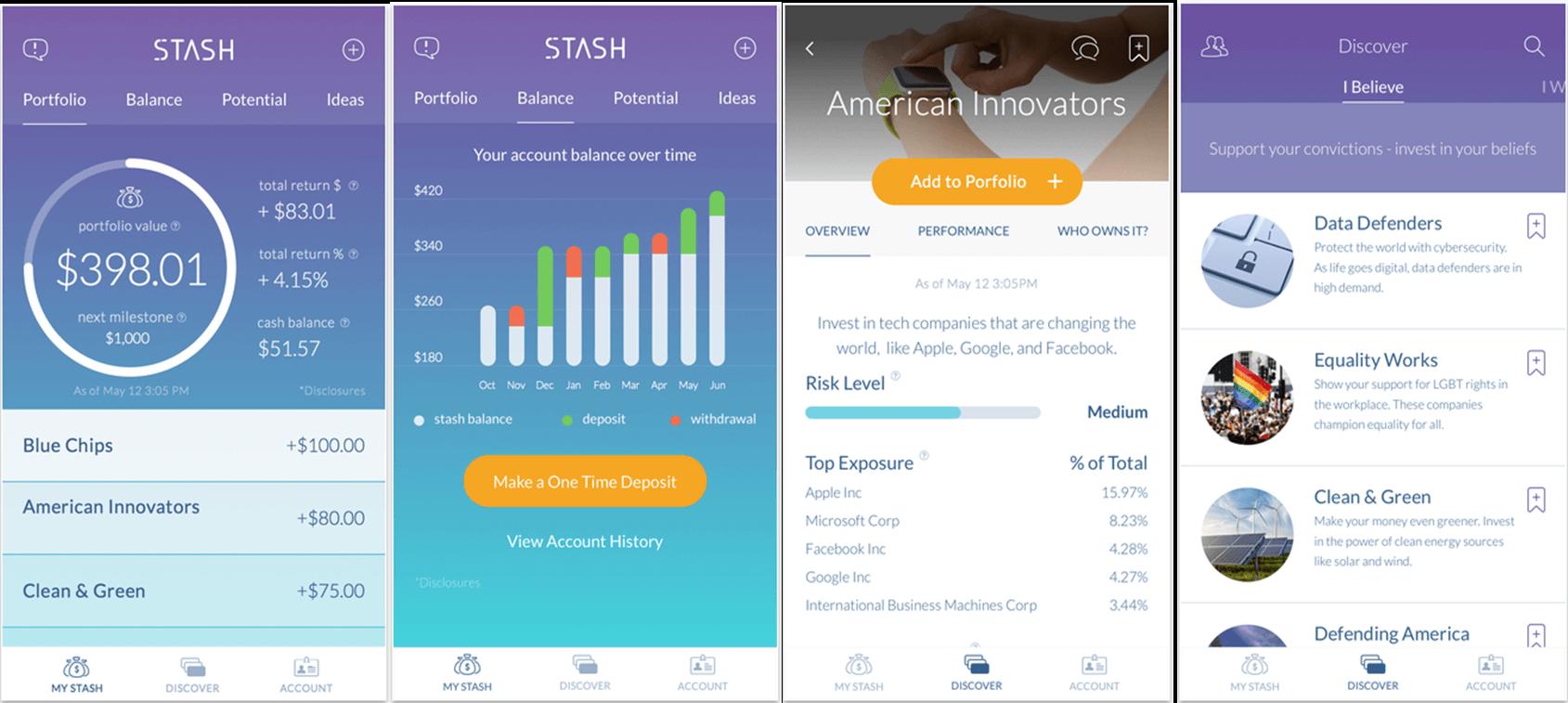 micro investing stash app