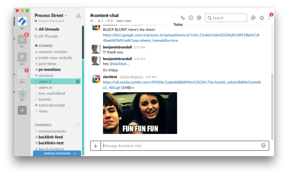 21 Ways to Use Slack Bots to Simplify Everyday Tasks