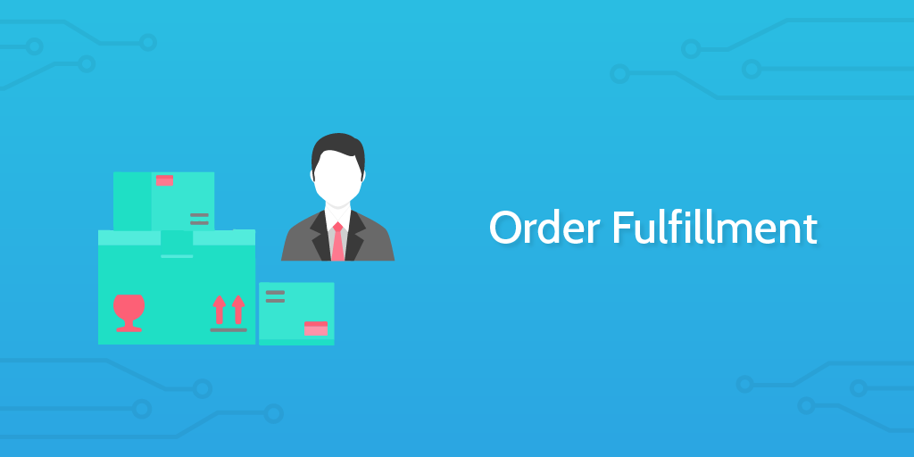 logistics management - order fulfillment header