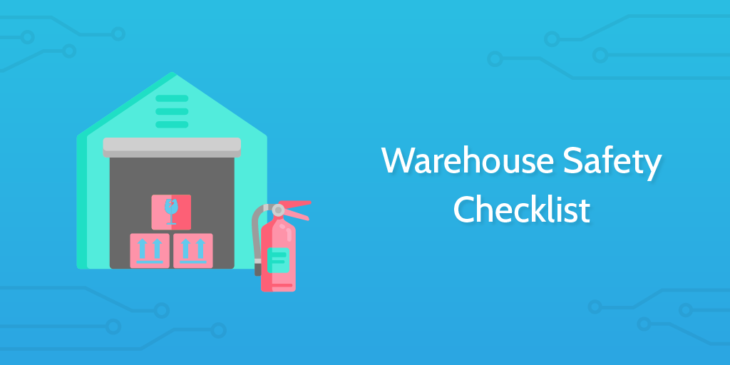 logistics management - warehouse safety checklist header