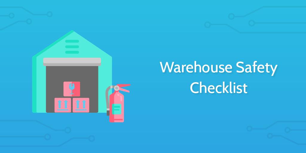 logistics templates - warehouse safety checklist header