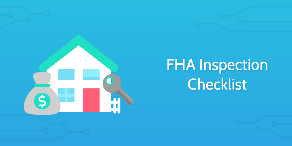 FHA inspection checklist header