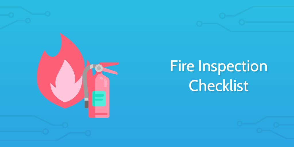Fire Inspection Checklist header