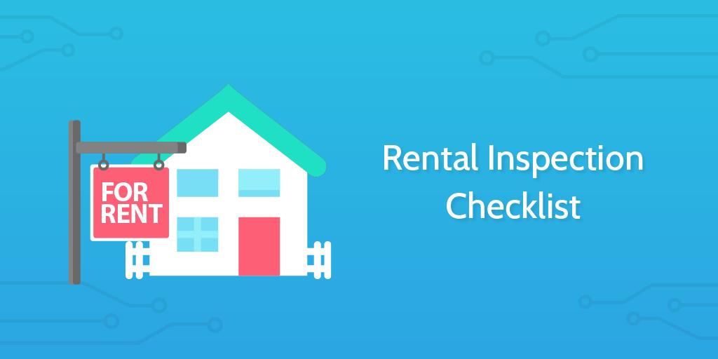 Rental inspection checklist header