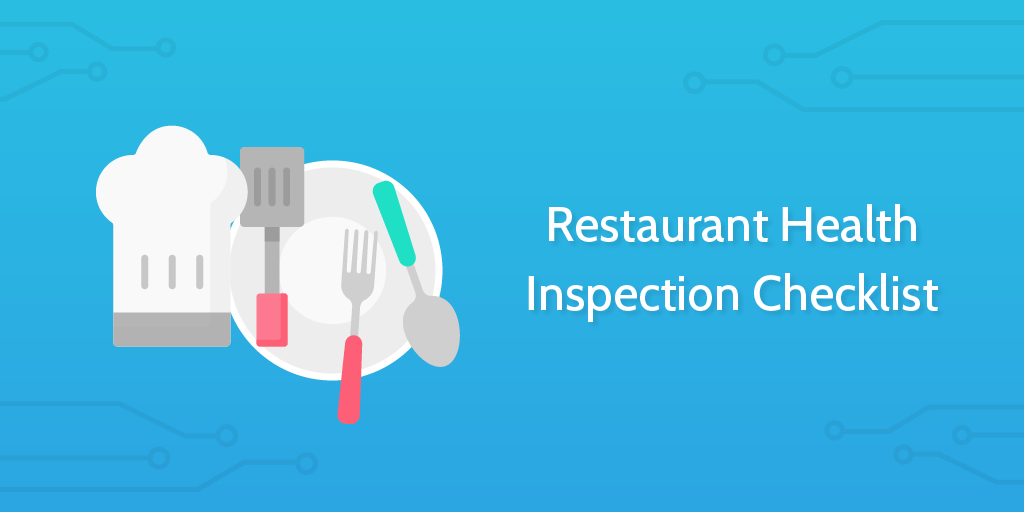 Restaurant Health Inspection Checklist Header