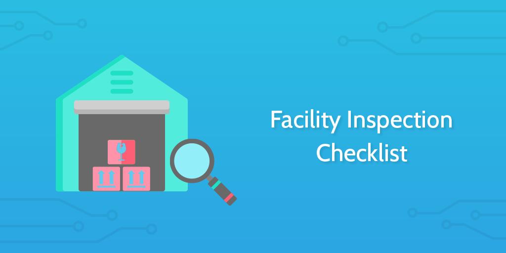 logistics templates - facility inspection checklist header