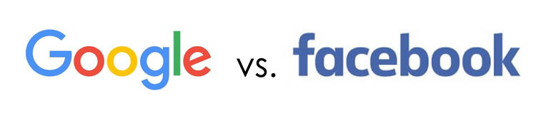 start a media company google vs facebook