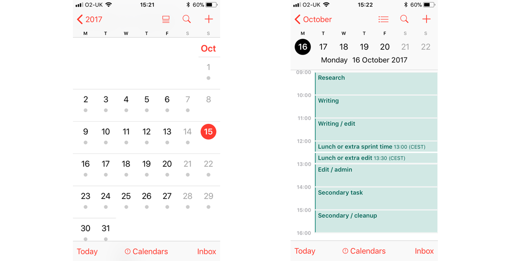 best mobile apps for business - google calendar