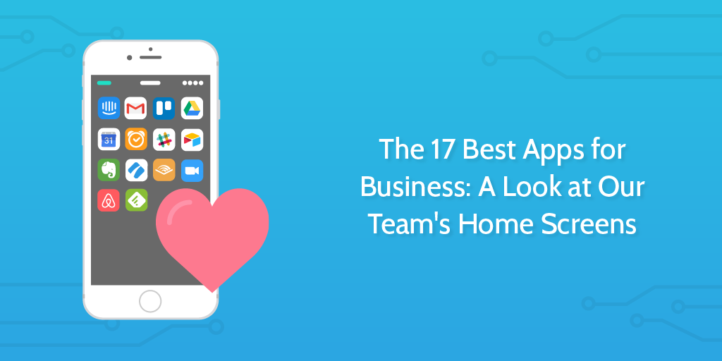 best mobile apps for business - header