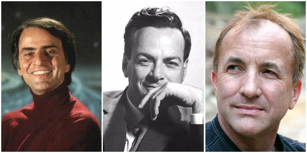 how to analyze an article sagan feynman shermer