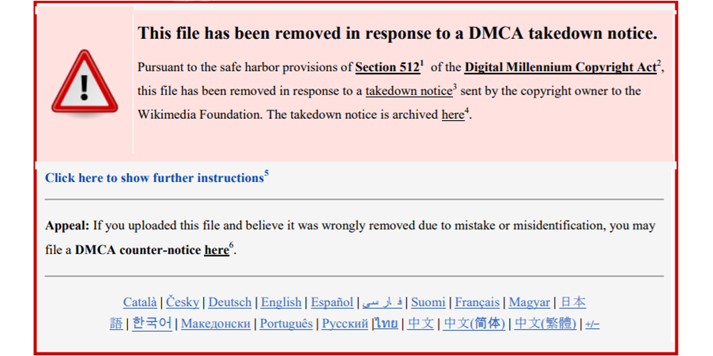 legal guide for bloggers fair use images - dmca takedown