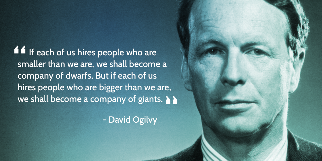 hr management tips - david ogilvy quote