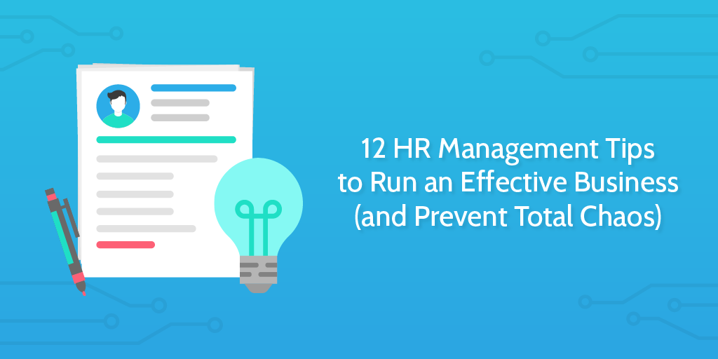 hr management tips - header