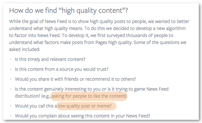 stop fake news facebook quality content