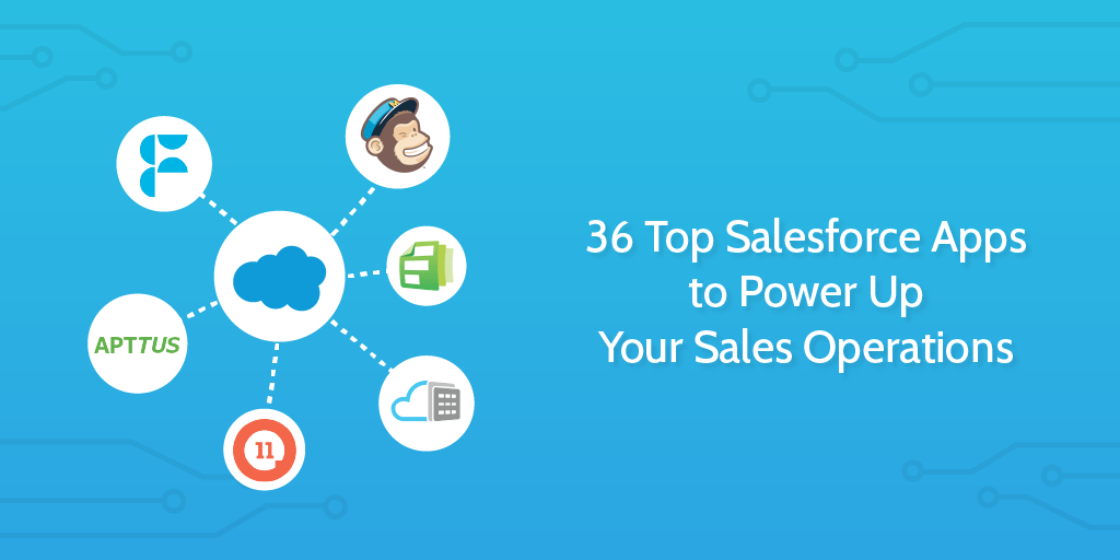 36 Top Salesforce Apps to Power Up Your Sales Operations
