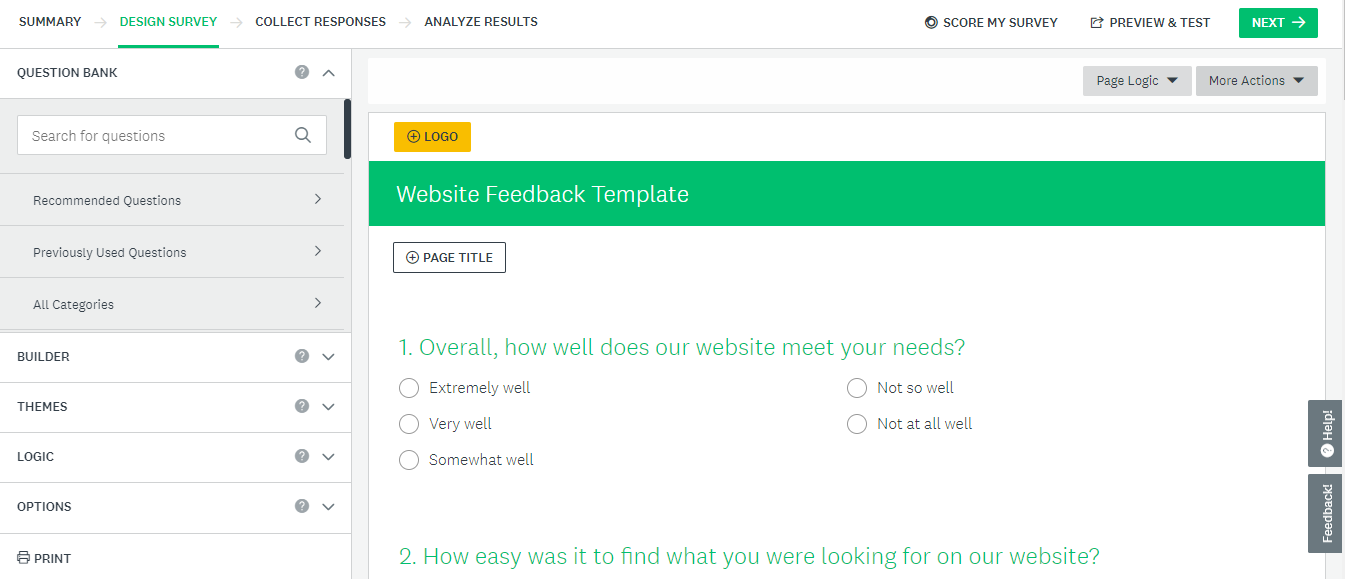 create a form surveymonkey form builder