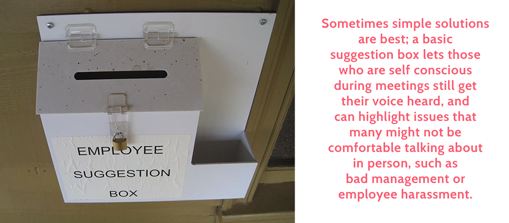 employee suggestions box final