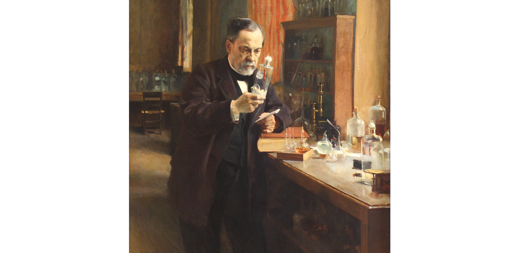 louis pasteur germ theory process