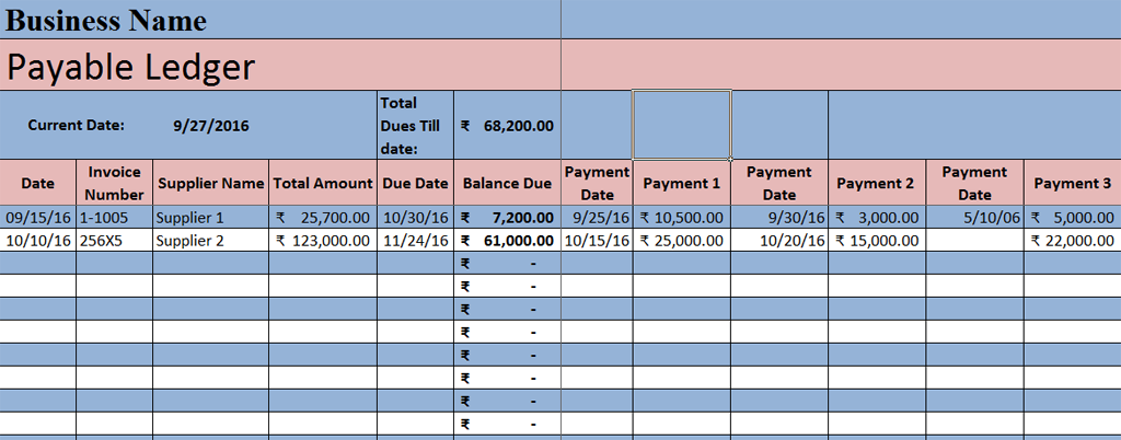 accounts payable metric