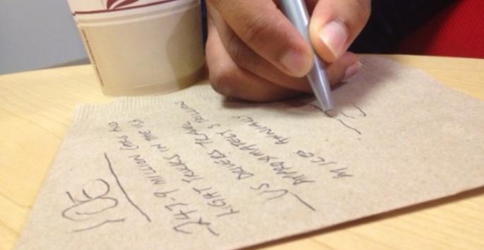 sales goals salesforce napkin math