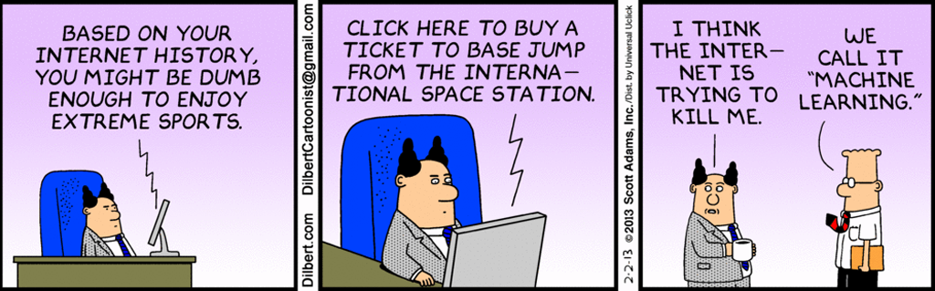 what is machine learning dilbert