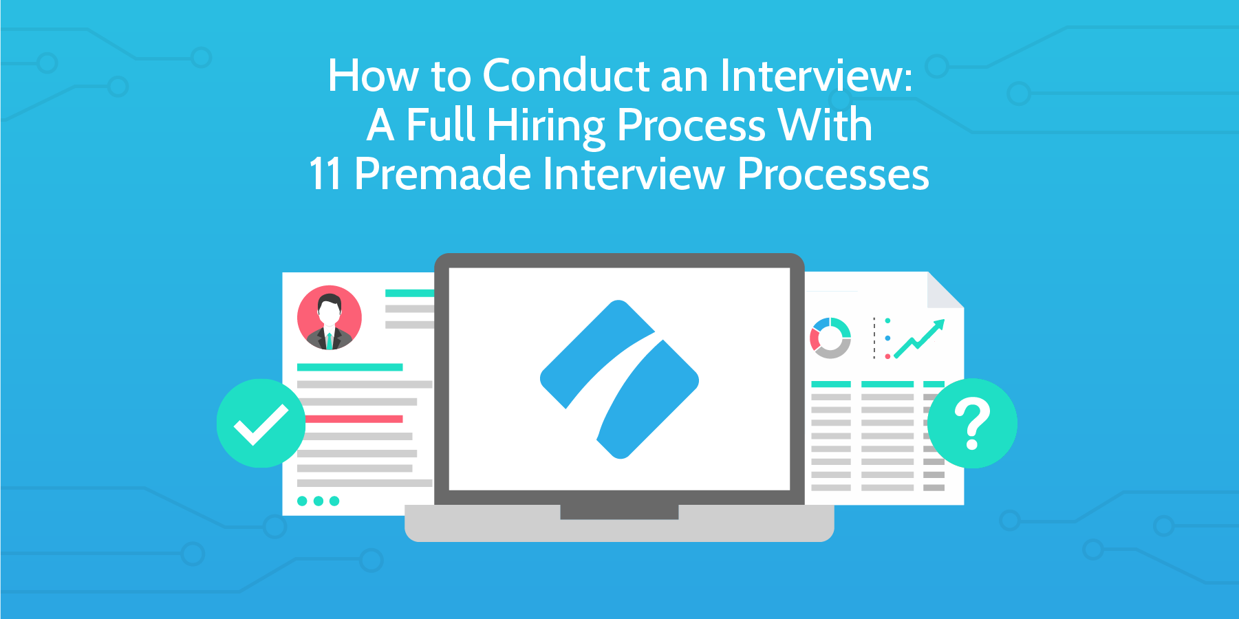 how to conduct an interview header
