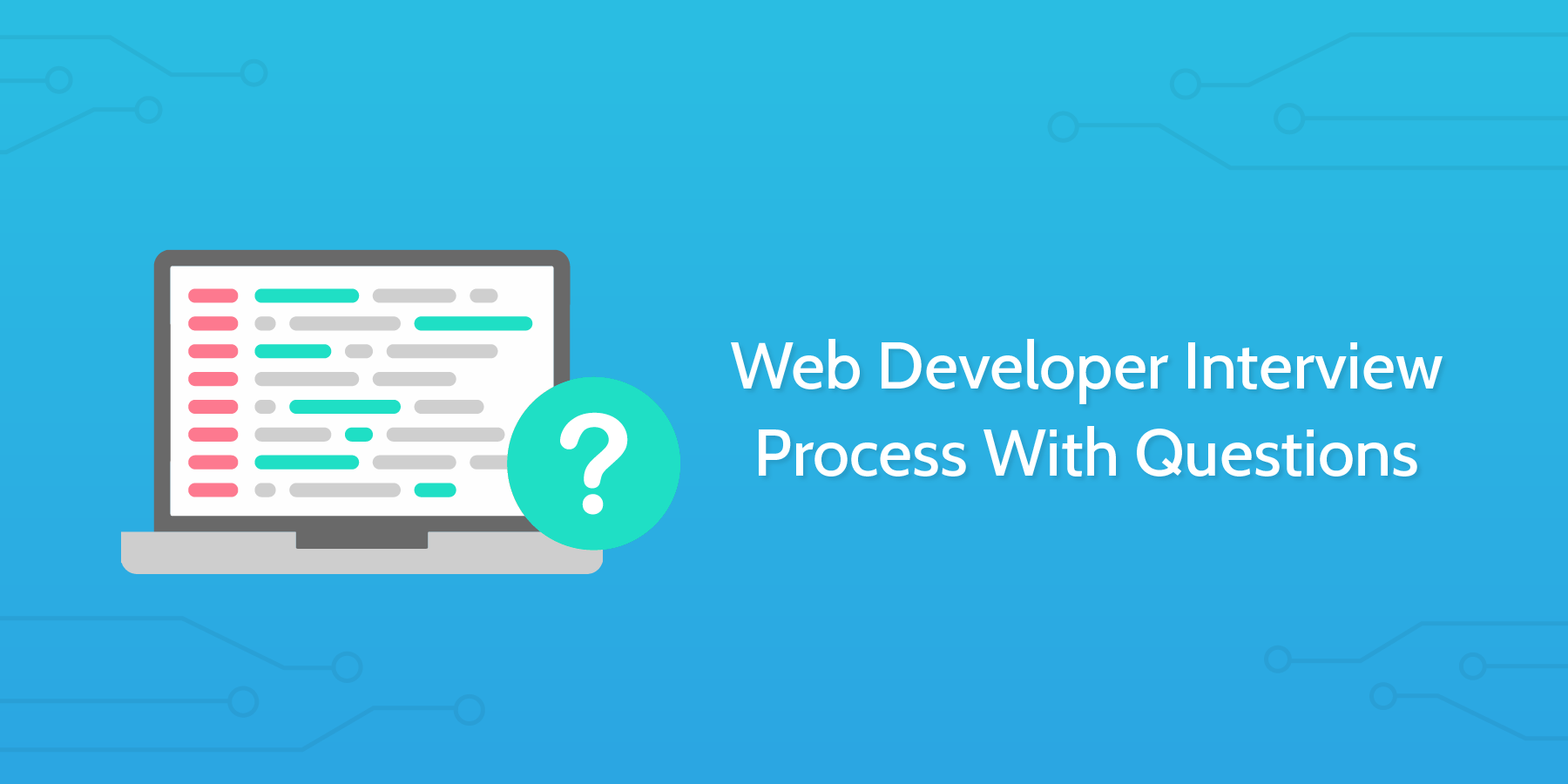 how to conduct an interview web developer interview questions