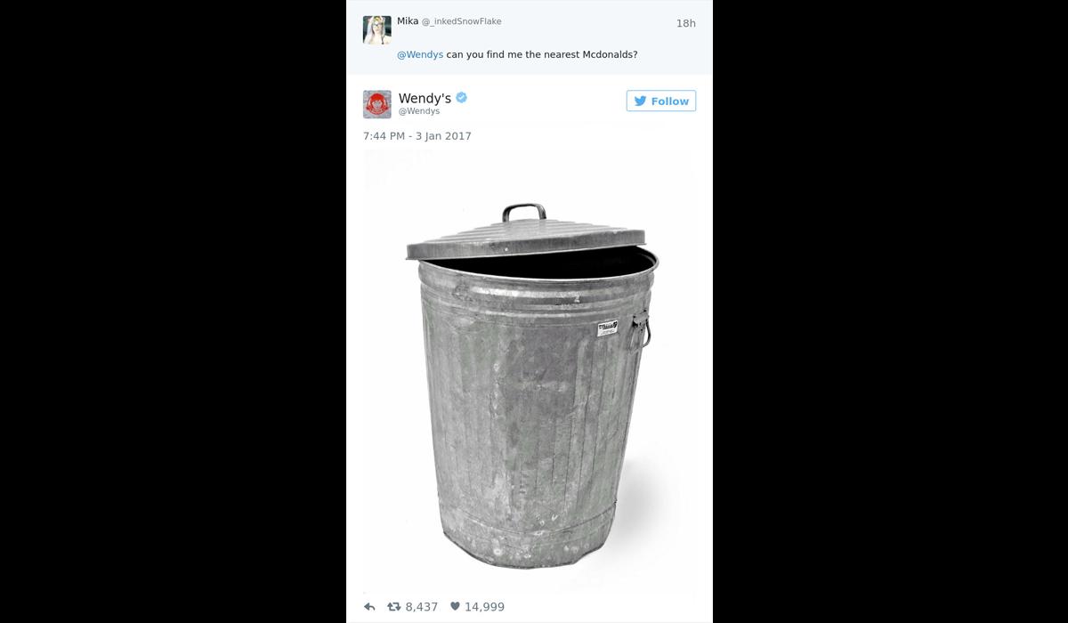 Wendys marketing twitter