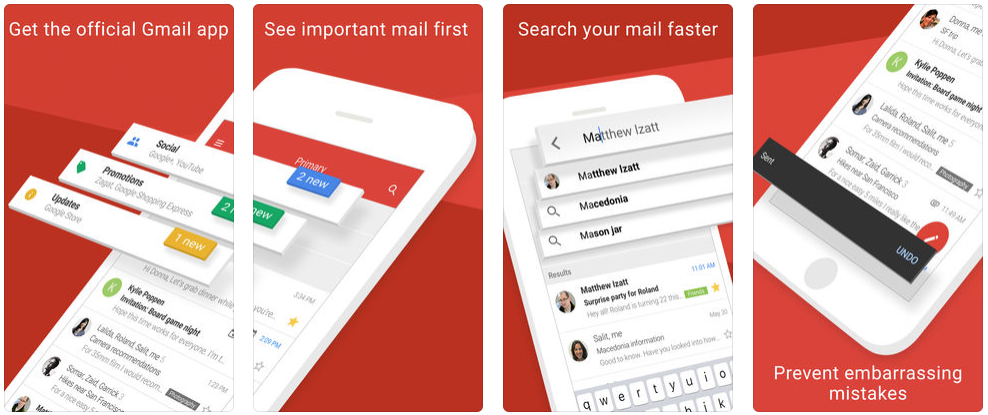 best email app for iphone gmail