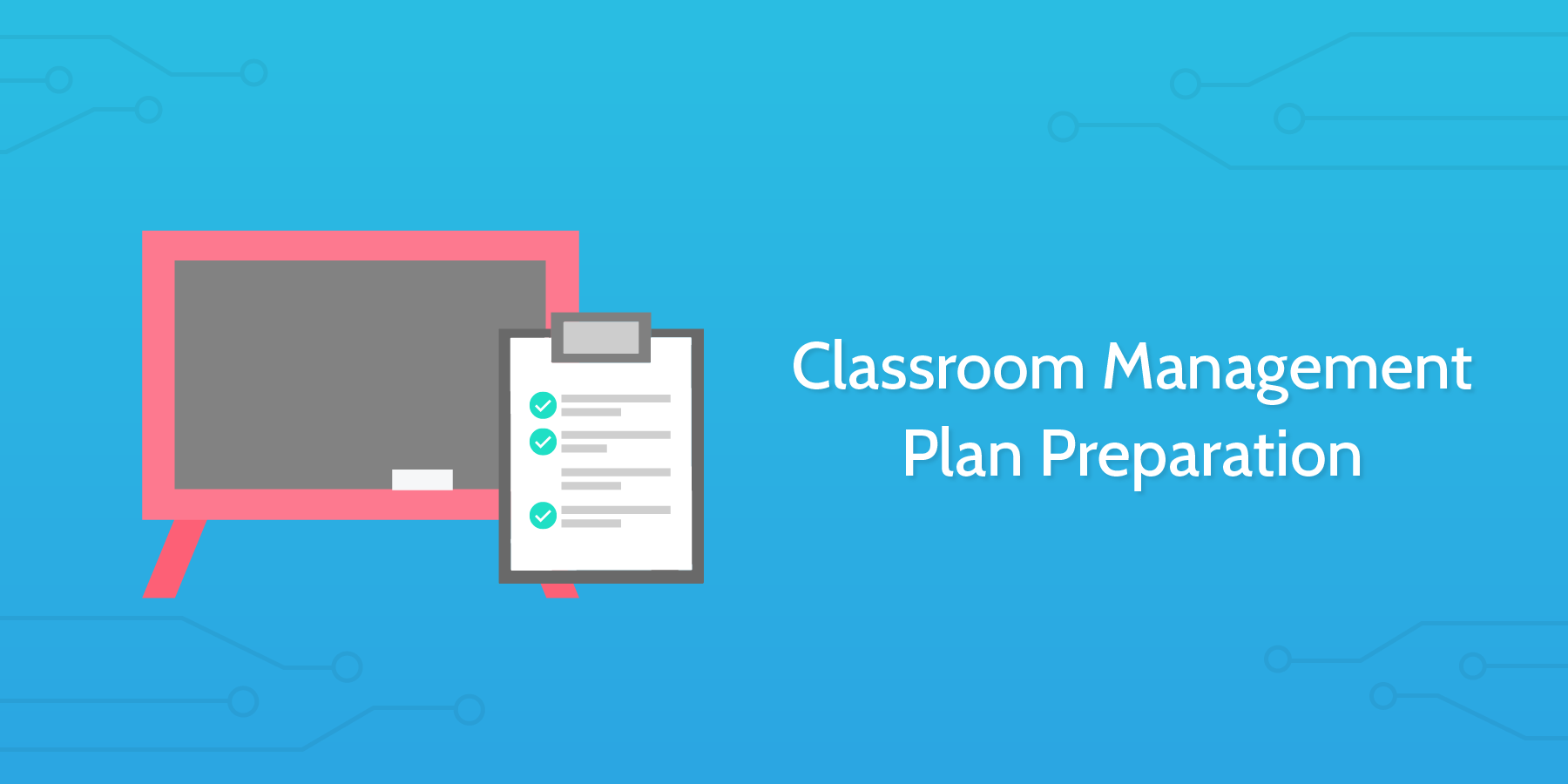 school checklists classroom management plan preparation