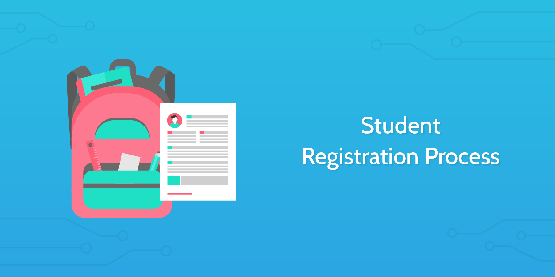 school checklists student registration process