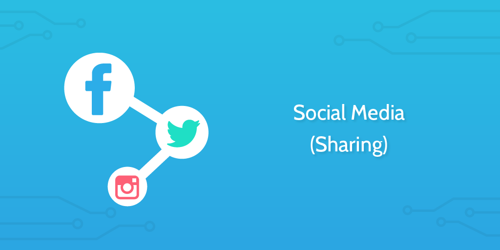 process automation - social media sharing