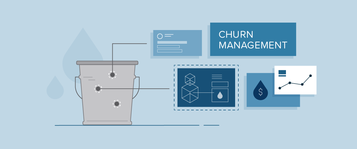 churn management graphic