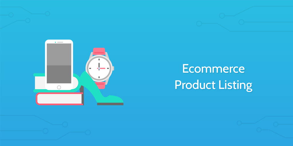 ecommerce product listing