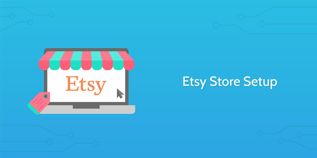 etsy store setup