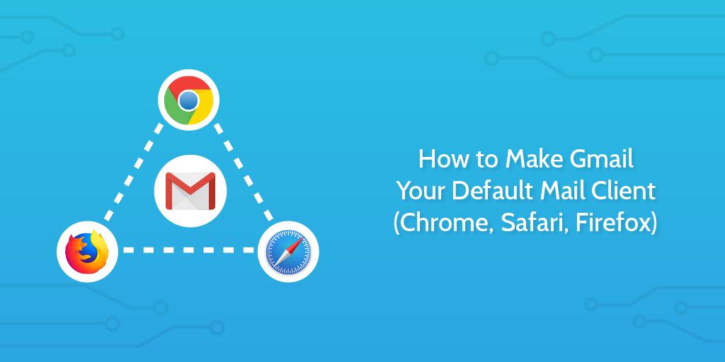 Gmail Default Mail Client