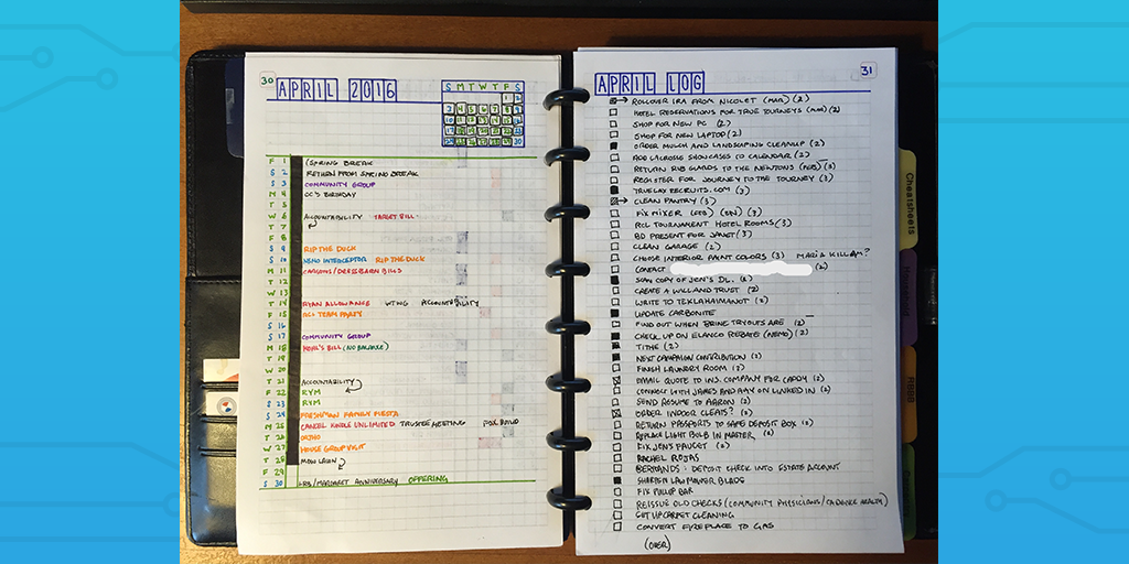 bullet journal example