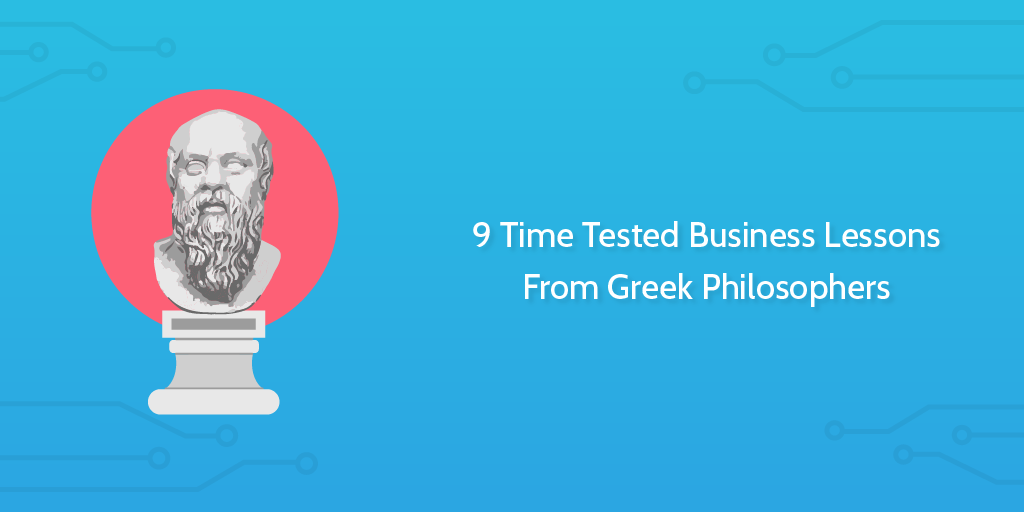 greek philosophers business lessons