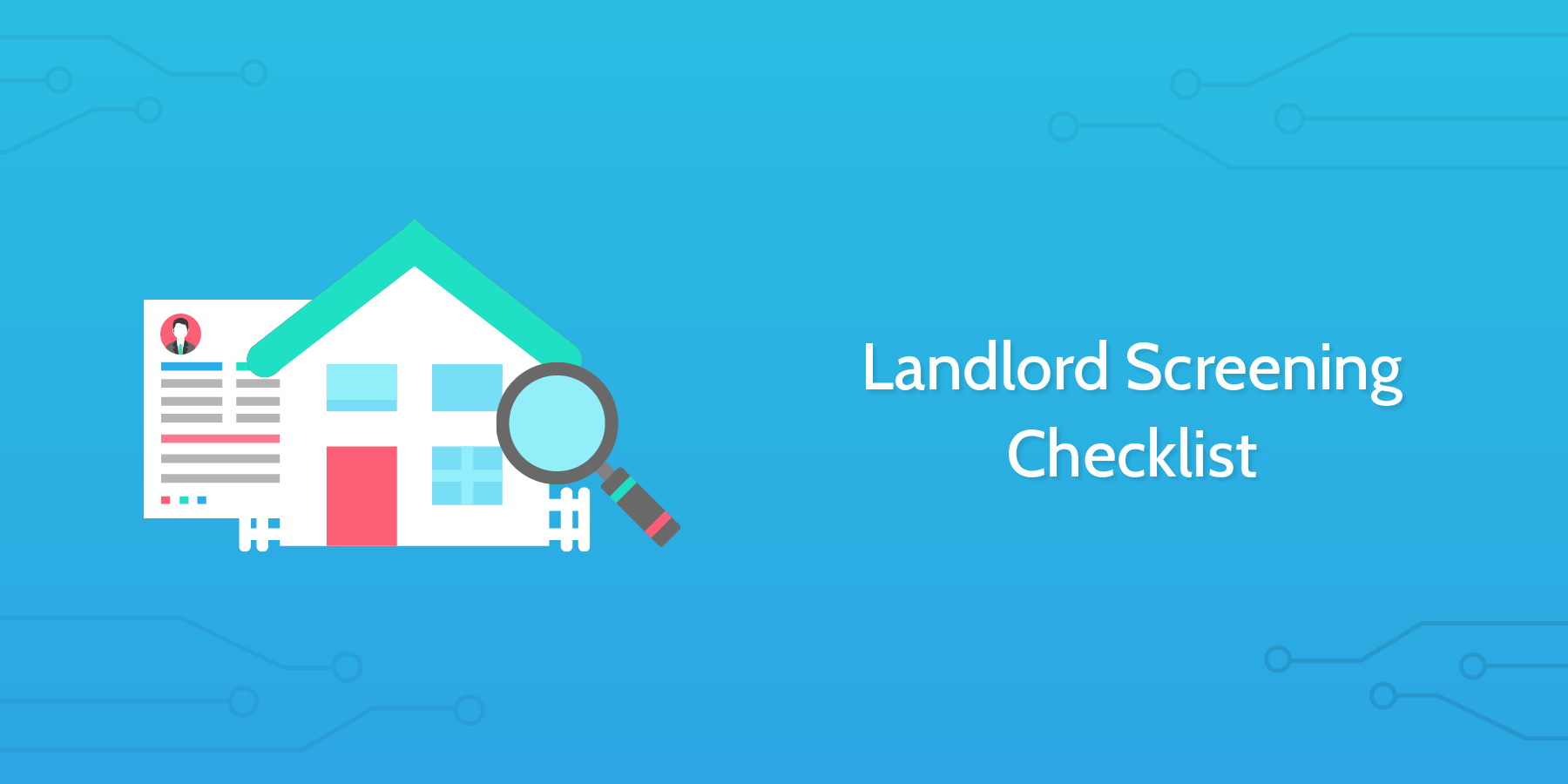 landlord screening checklist