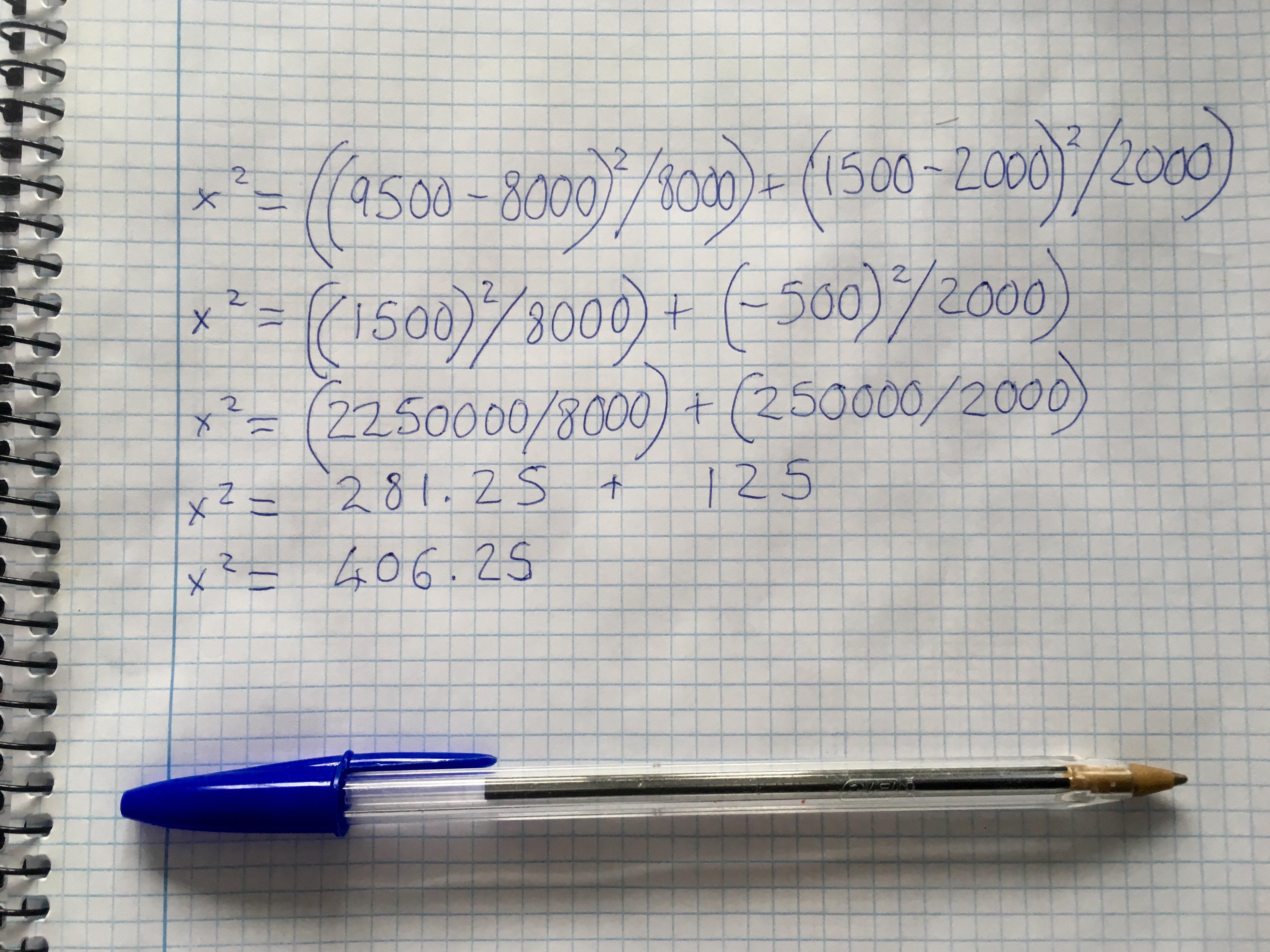 p value calculation