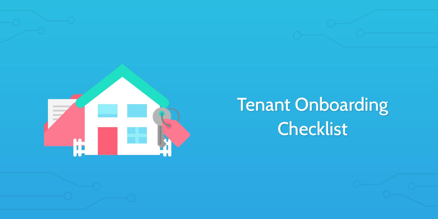 tenant onboarding checklist