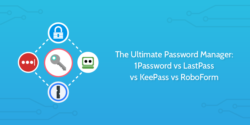 The Ultimate Password Manager: 1Password vs LastPass vs KeePass vs