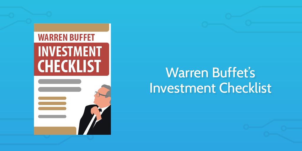 Warren buffets investment checklist the secret to his succes