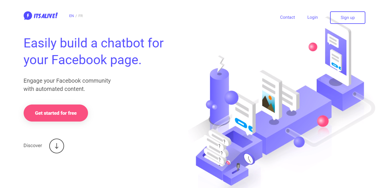 best chatbots its alive