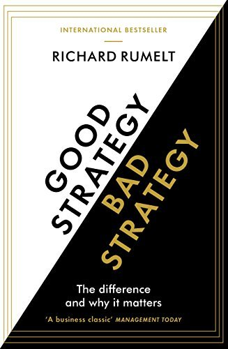 best sales books Good Strategy, Bad Strategy