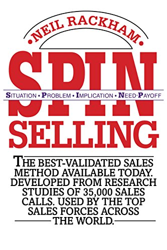 best sales books spin selling