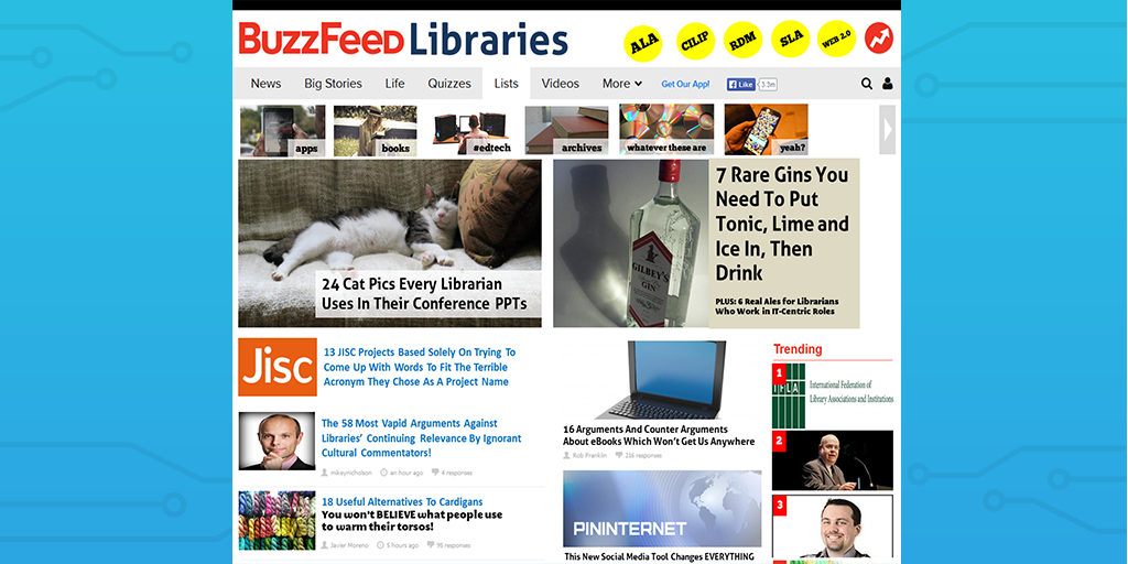 buzzfeed listicle