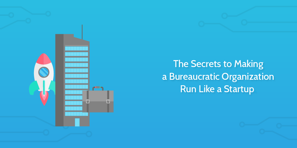 bureaucratic organization header