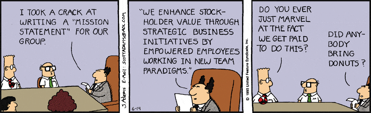 dilbert mission statement
